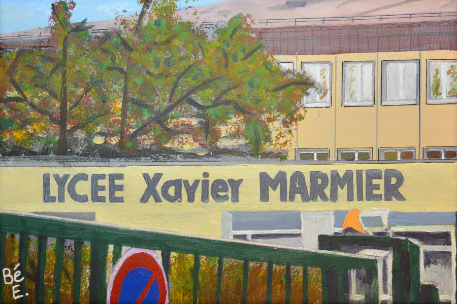 Le_lycée_Xavier_Marmier_à_Pontarlier