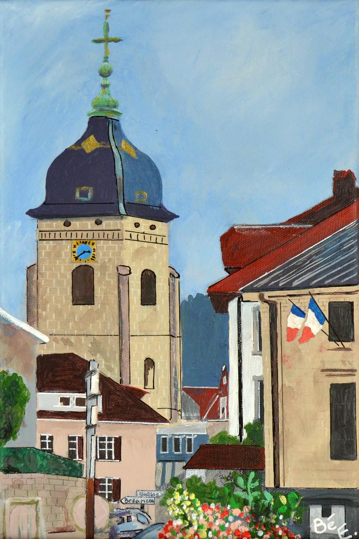L'église St. Benigne à Pontarlier